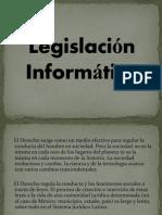 Legislación Informática
