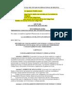 Ley Nº 262 Régimen de Congelamiento de Fondos de Personas Vinculadas con Terrorismo.doc
