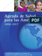 Agenda de Salud Para Las Americas 2008 2017 7