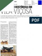 CARRUAGEM HISTÓRICA EM VILA VIÇOSA - OJE 30-01-2008