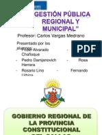 Gestión Pública Regional-caso Callao