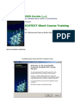 ECOTECT Analysis Tutorial PartI