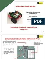 Transparencias Sobre Montaje Del Microbot Home Boe Bot V1.0