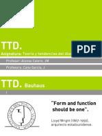 TTD Bauhaus .Ppt