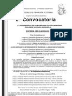 2a Convocatoria 2013-2