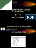 8.1 - PLC's  - I_O DISCRETAS