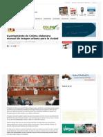 15-03-12 AYUNTAMIENTO DE COLIMA ELABORARA MANUAL DE IMAGEN URBANA PARA LA CIUDAD