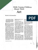 Talking With Young Children About Their Art Schirrmacher