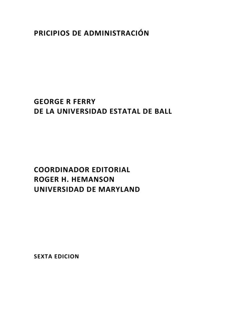 04..Lectura Nº 3.-PRINCIPIOS DE ADMINISTRACION TERRY