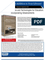 Didactic Strategies and Technologies for Education