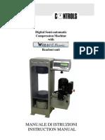 Ctm Manual (Compression Machine)