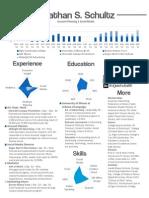 Jonathan Schultz Infographic Resume