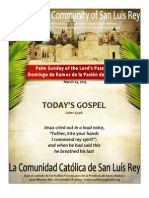 Mission San Luis Rey Parish 3-25-2013