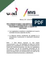 Boletín aprobación reforma en telecomunicaciones 22 Marzo.pdf