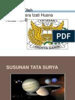 Susunan Tata Surya