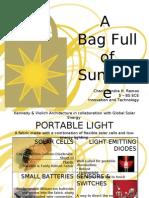 A Bag Full of Sunshine