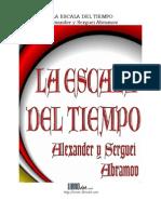 Alexander Agramov - La Escala Del Tiempo