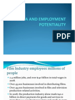 Cinema and Employment Potentiality