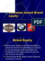 Customer Based Brand Equity