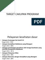 Target Cakupan Program
