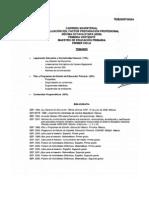 Temario de Evaluaciones de Etapa XVIII Carrera Magisterial