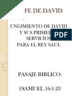 LA FE DE DAVID 1
