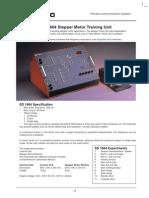 Process Control Servo System SD 1664 Stepper Motor Training Unit