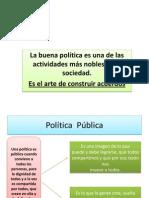 politica  púbilica