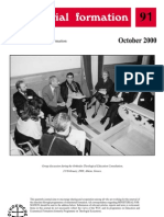 Ministerial Formation 91, October 2000