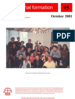 Ministerial Formation 95, October 2001