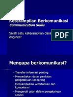 MH Keterampilan Berkomunikasi