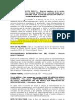 caducidad - reparación directa - desde el conocimiento del daño - 2011 - 19001-23-31-000-1997-01042-01(19835)