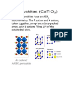 Simple Perovskites Have an ABX3 Stoichiometry