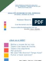 Diplomado Especializado en Analisis Economico Derecho