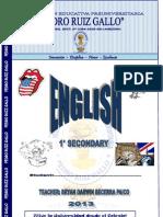 Modulo de Ingles 1 Secondary