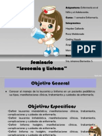 Presentación Leucemia y Linfoma Pediatría