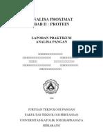 Analisa Proximat Protein