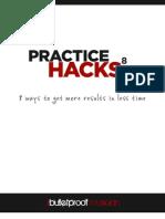 8 Practice Hacks