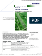 Functional Classification in Highways