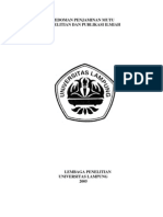 Draft Buku Penelitian Dan Publikasi