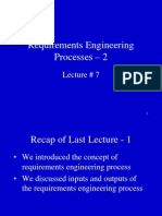 Requirement Enginering  Software Requirement Tutorial 7