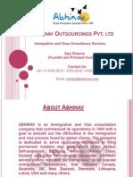 Abhinav Immigration and Visas Consulting Company