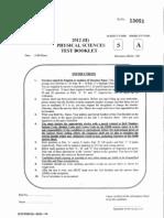 CSIR NET EXAMINATION PHYSICAL SCIENCES DECEMBER 2012.pdf