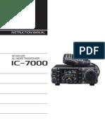 Icom IC-7000 User Manual