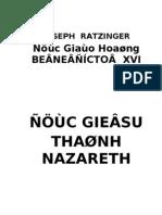 Duc Giesu Thanh Nazareth, Phan I