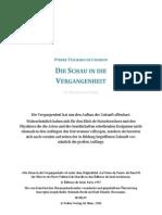 Die Schau in die Vergangenheit - Teilhard de Chardin