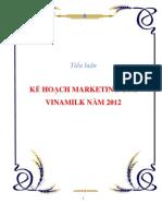 [cafebook.info] Kế hoạch kinh doanh của Vinamilk năm 2012.pdf