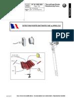 9100E000 Ind B Detection Porte Battante FR