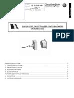 9100E500 Ind Maintenance Protection Porte Battante SAE Ou NF82212 FR