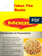 Maggi Takes the Health Route